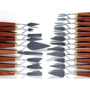 Diferite  forme de cuţite de paletă