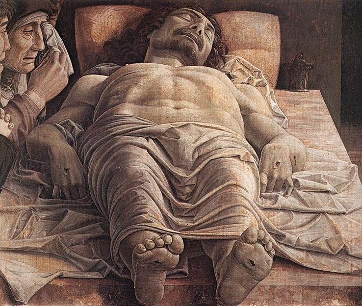 Andrea Mantegna - Isus mort 1475-1478