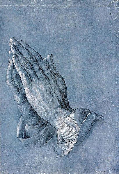 Albrecht  Durer- Mâini în rugăciune -1508
