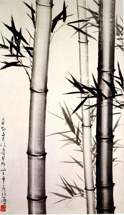 Desen în ţuş sau cerneală (Xu-Beihong)