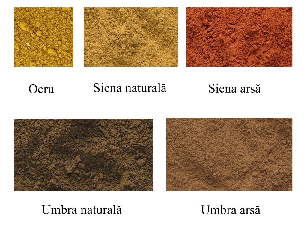 Pigmenti de ocru