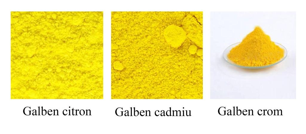 Pigmenti galbeni