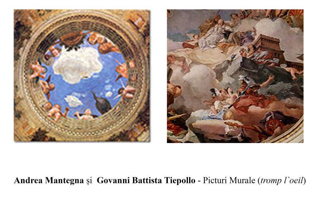 Andrea Mantegna si Govanni Battista Tiepollo