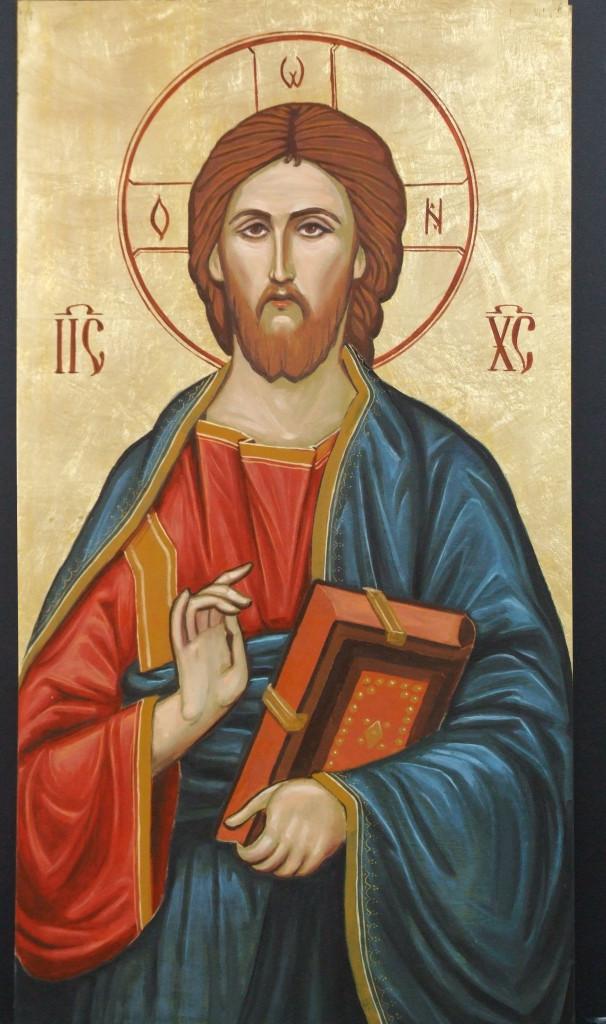 Icoana in stil bizantin- Iisus