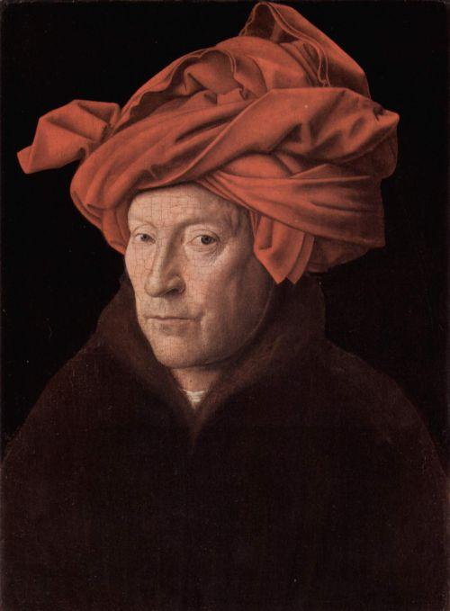 Pictura cu glasiuri Jan Van Eyck