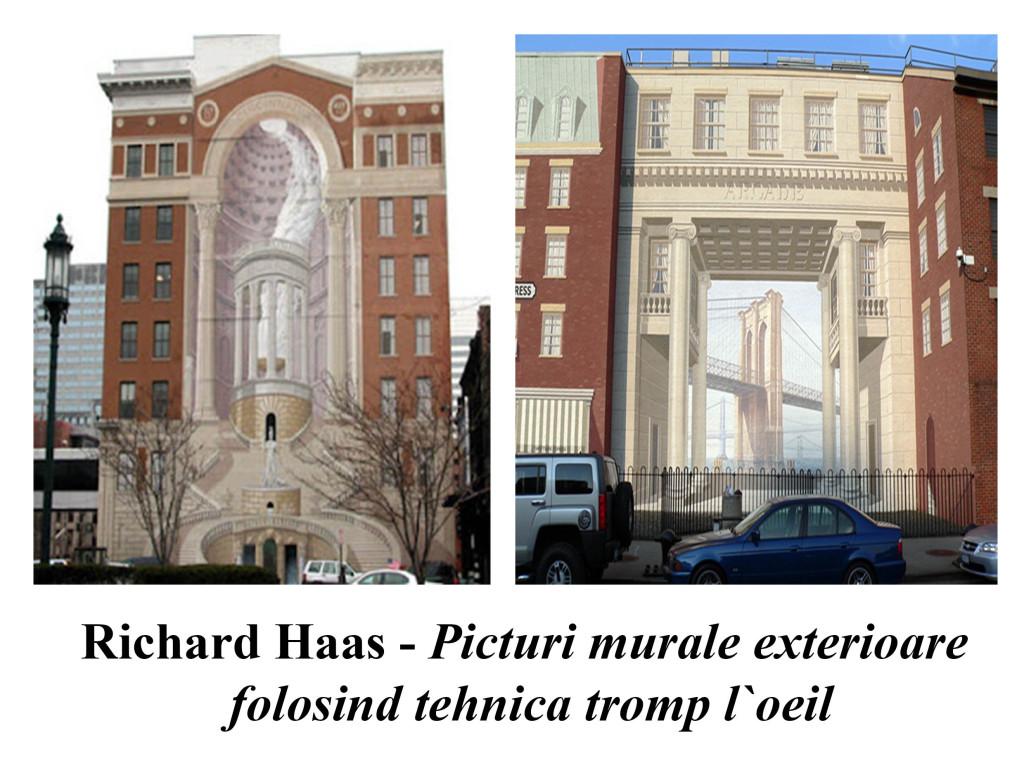 Richard Haas - Picturi murale exterioare