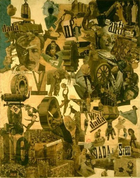 Hannah Hoch 1919 - colaj cu fotografie