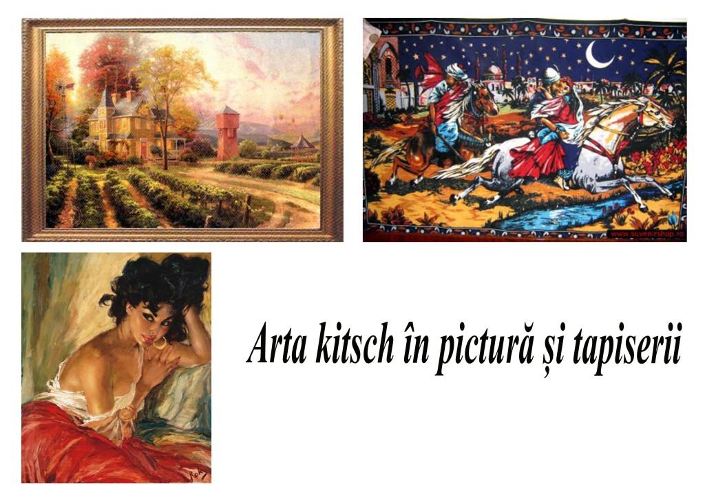 arta kitsch in pictura