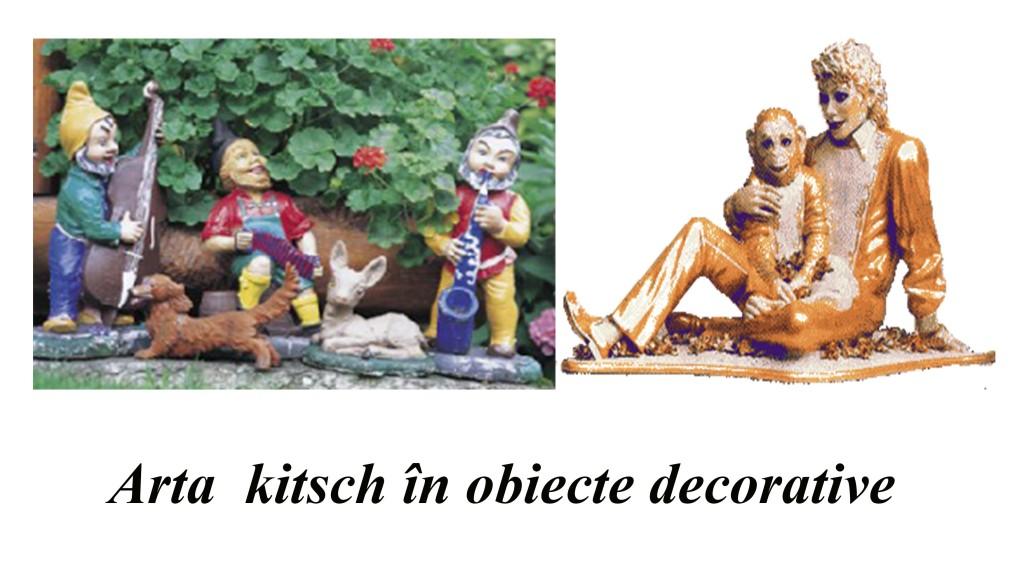 Arta kitsch în obiecte decorative