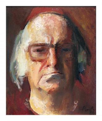 Autoportret Corneliu Baba 1980