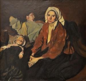 Corneliu Baba Odihna la camp (1954)