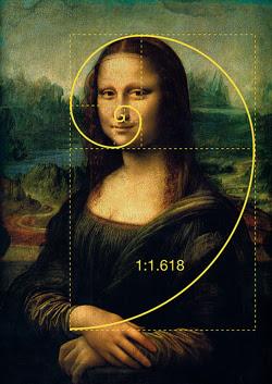 Sectiunea de aur - Mona Lisa Leonaro Da Vinci