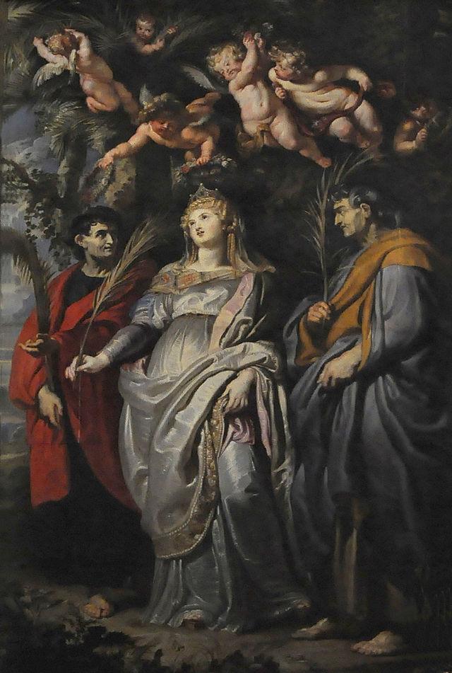 Panou de ardezie - Peter Rubens, Roma, Chiesa Nuovo