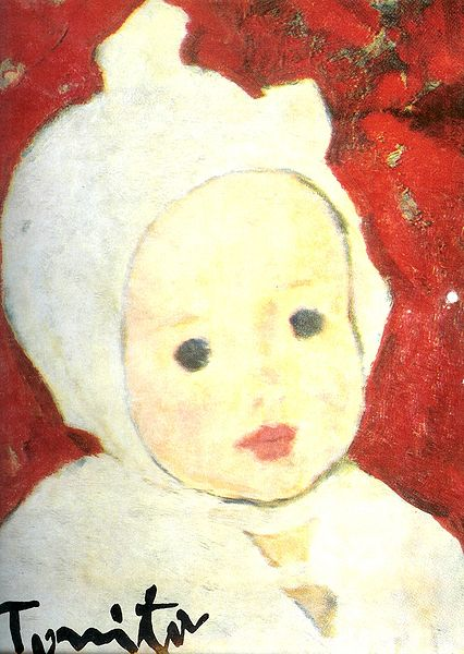 Portret_de_copil 1926-Nicolae_Tonitza