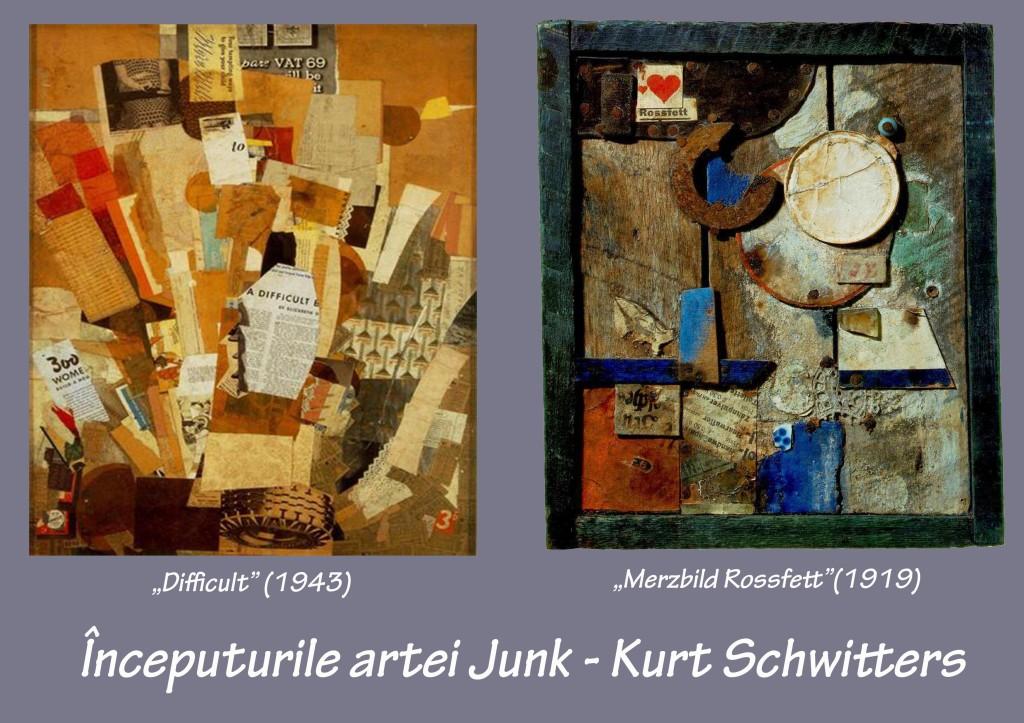 Inceputurile artei Junk