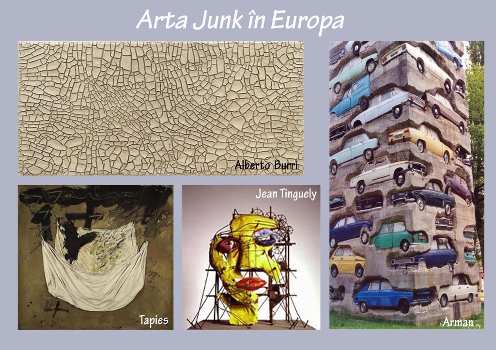 Arta junk in Europa