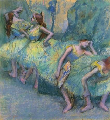 Edgar Degas- Balerine