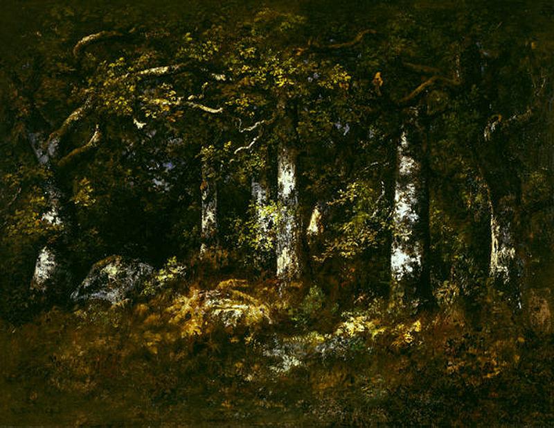 Narcis Diaz de la Pena-Padure la Fontainebleau (1868)