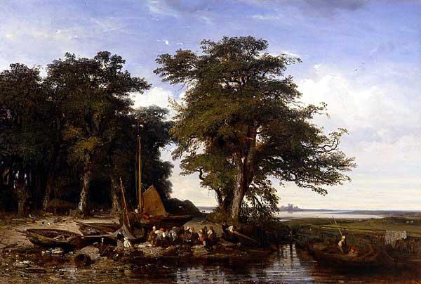 Jules Dupre - Langa Plymouth (1833)
