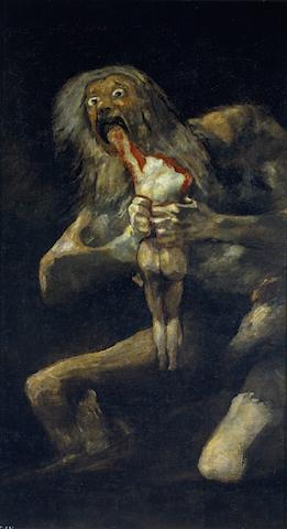 Francisco Goya -Saturn devorndu-si copii