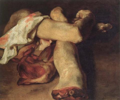 Théodore Géricault - Studiu