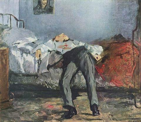 Edouard Manet -Sinuciderea