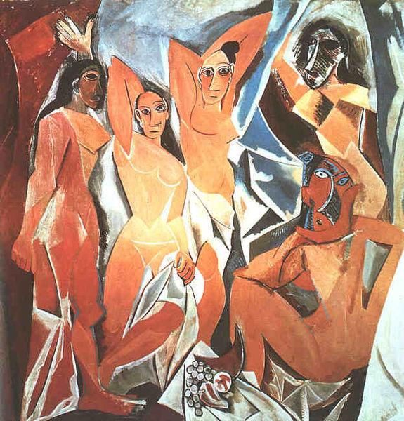 Domnisoarele din Avignon- 1907-Picasso