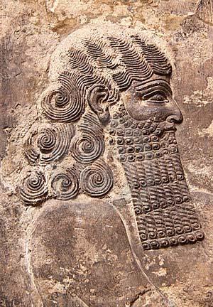 Portret asyrian