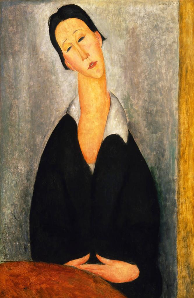 Portret de femeie poloneza - Modigliani