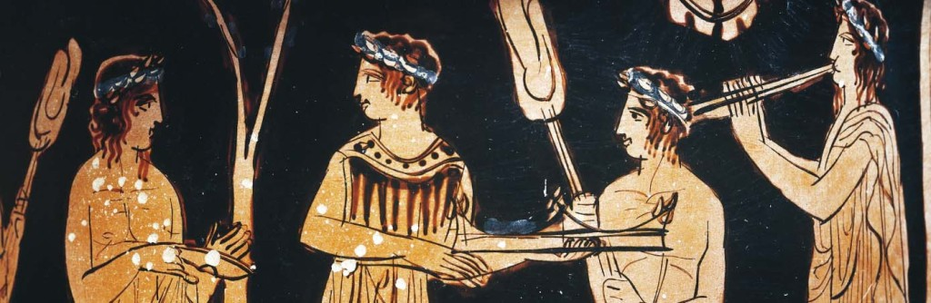 Detaliu portrete vas grecesc