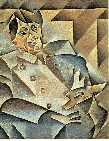 JuanGris -Portretul lui Picasso