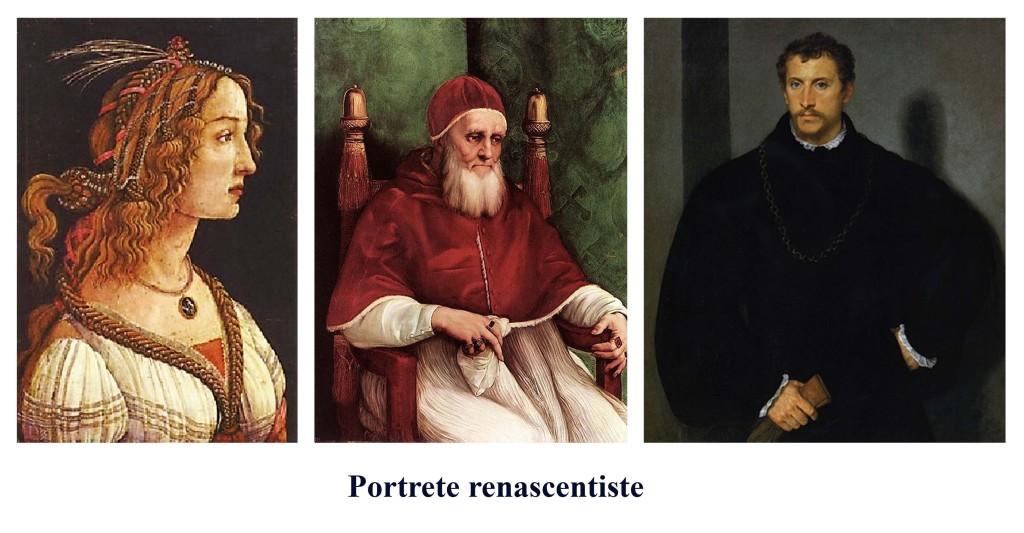Portrete renascentiste