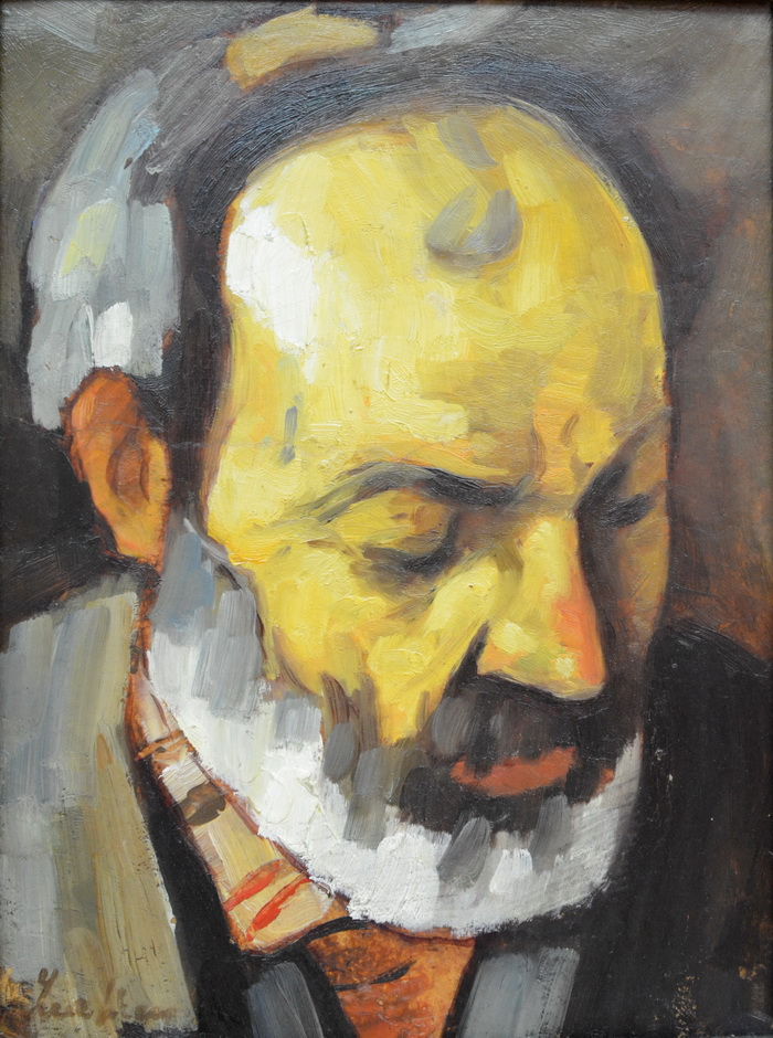 Stefan Luchian - Mos Nicolae cobzarul