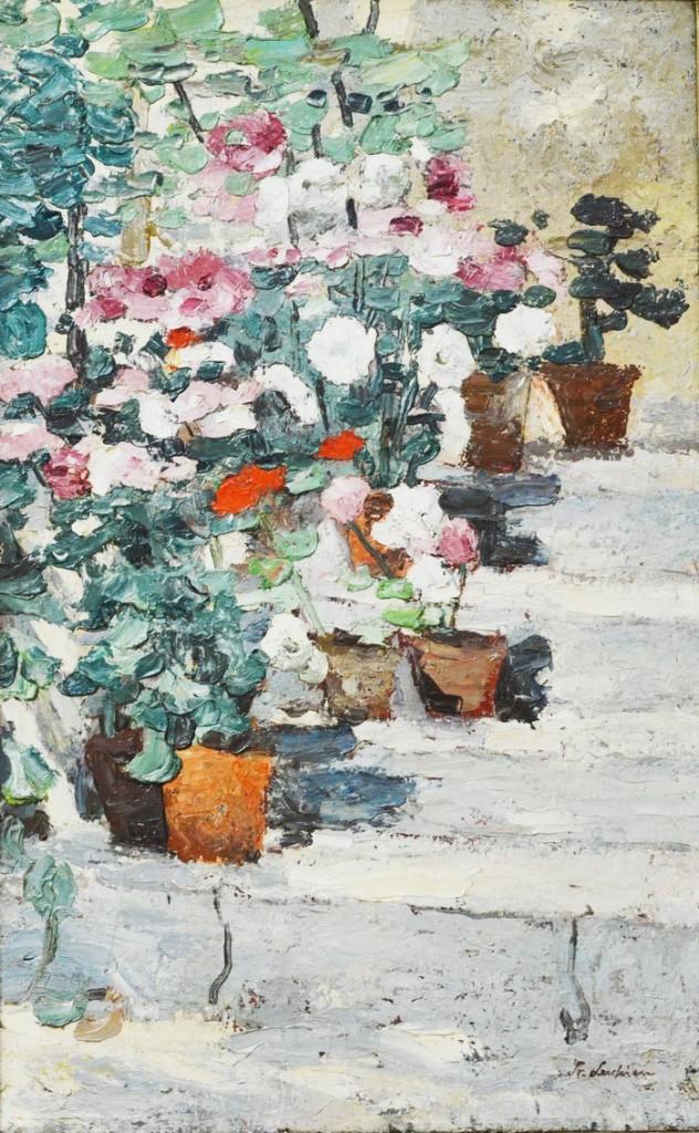 Scara cu flori - Stefan Luchian