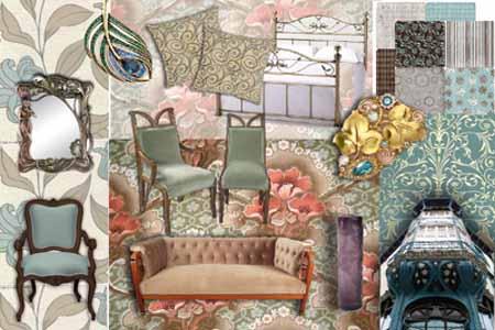 Articole si alte accesorii Art Nouveau