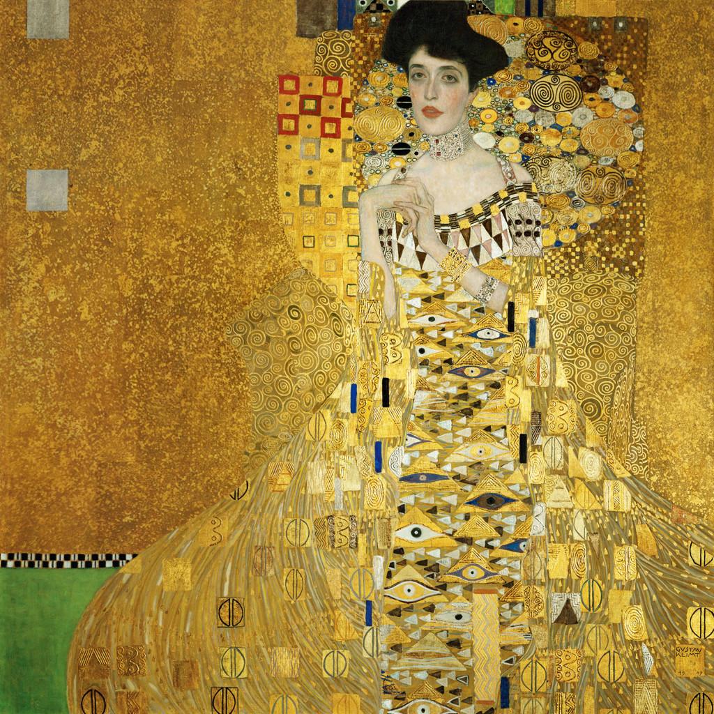Gustave Klimt -Portretul Adelei Bloch Bauer